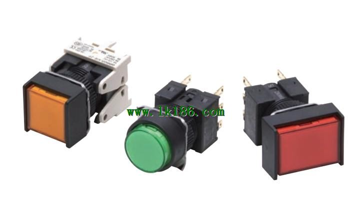 OMRON Pushbutton SwitchA165L-TAM-24D-2P
