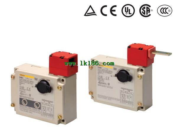 PLC Processors Omron D4BL-K2 Guard Lock Safety Door Switch ...