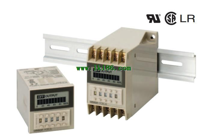 H3ca Series Solid State Timer Omron H3ca Series Lk