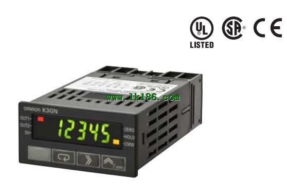 Omron Digital Panel Meter : K gn pdt flk dc v din digital panel meter omron